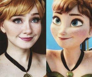 anna, disney, and pretty image