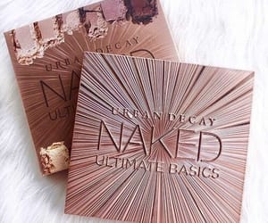 basic, urban decay, and cosmetics image