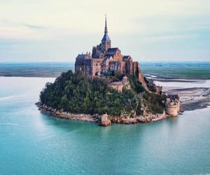 castle, travel, and france image