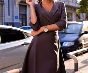 beautiful dress, street style, and dress image