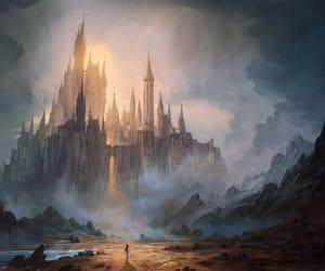 castle, digital art, and fan art image