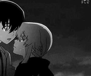 anime, couple, and gif image