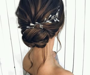 beautiful, brown, and style image