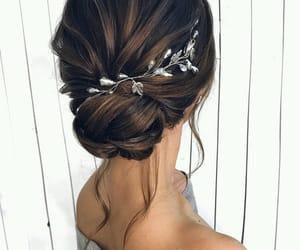 beautiful, elegance, and hair image