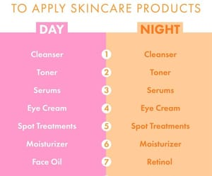 routine, beauty, and products image