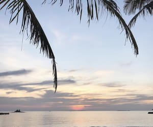 holidays, Maldives, and sunrise image