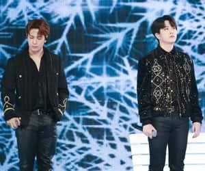 jackson, JYP, and youngjae image