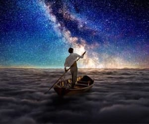 dreamy, spirit, and boat image