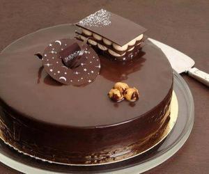 chocolate, yummy, and cake image