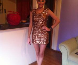 dress, girl, and legs image