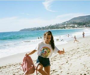 beach, inspo, and emma chamberlain image