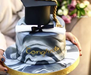 cake, celebration, and congratulations image