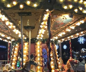carousel, nights, and carrousel image