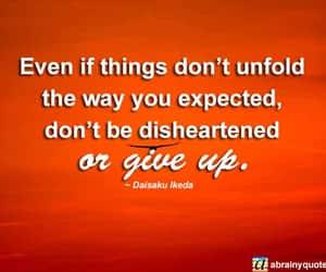 karma, karma quotes, and never give up image