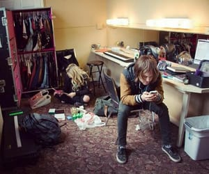 angry, dressing room, and Relationship image