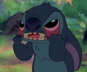 stitch, disney, and mood image