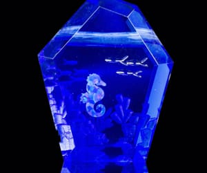 aesthetic, blue, and clear image