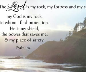 quote and psalm image