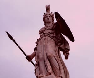 statue, athena, and goddess image
