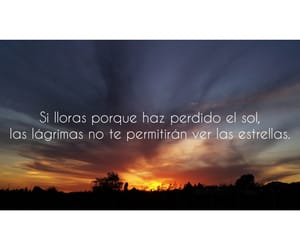 atardecer, letra, and frase image