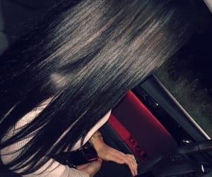 black, car, and drive image