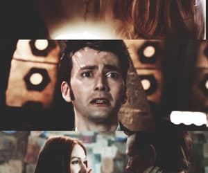 doctor who, ninth doctor, and amy pond image
