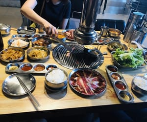 beef, food, and korean image