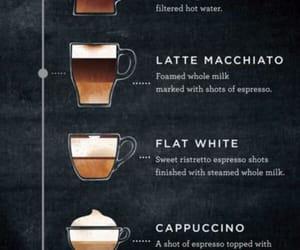 coffee, latte, and macchiato image