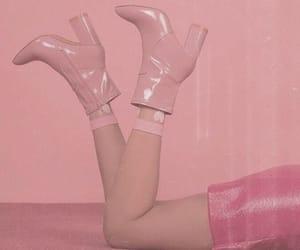aesthetic, girl, and heels image