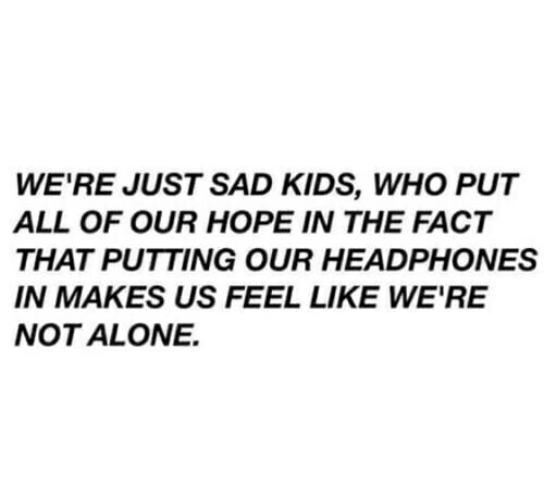 Image about quotes in sad teen by Idk her on We Heart It