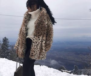 brunette, fur, and russiangirl image