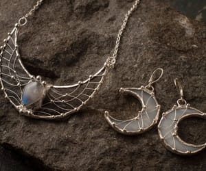 crescent moon, etsy, and lord of the rings image