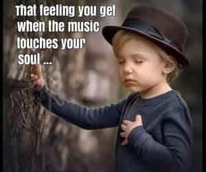 eyes closed, that special feeling, and music saves your soul image