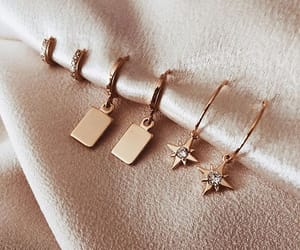 accessories, diamonds, and earrings image