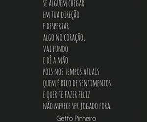 amizade, sentimento, and geffo pinheiro image