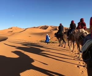 marrakech and sahara desert image