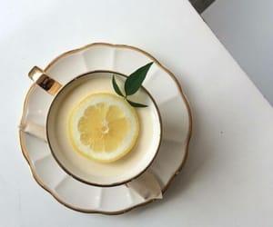 lemon, aesthetic, and drink image