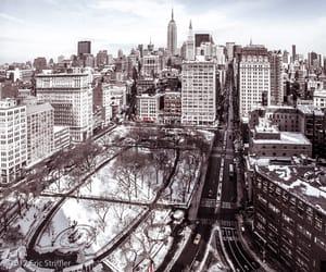 city, manhattan, and nyc image
