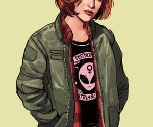 the x files, art, and dana scally image