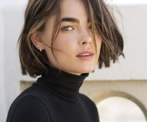 girl, hair cut, and img image