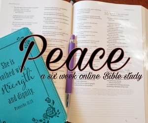 article, bible, and peace image