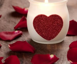 candles, fire, and heart image