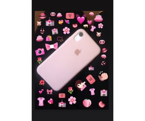 iphone, pink, and funda image