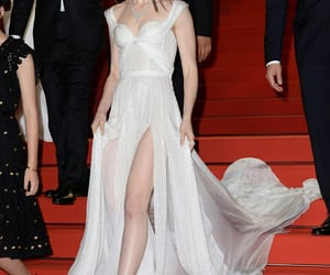 actrees, lily collins, and Couture image