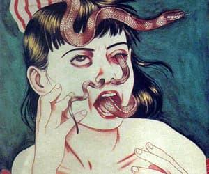 art and snake image