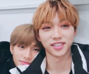felix, skz, and hyunjin image