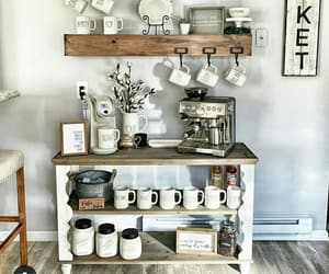 coffe, cup, and decor image
