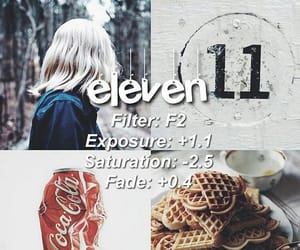 eleven, filter, and instagram image