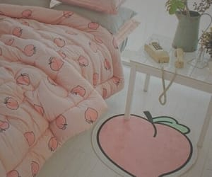 pink, peach, and cute image