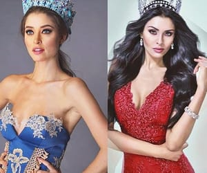 fashion, miss universe, and makeup image